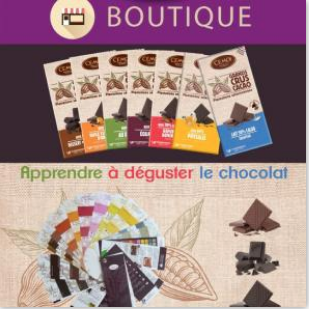 Atelier  d'initiation à la dégustation du chocolat