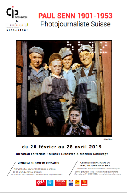 "Exposition ""Paul Senn 1901-1953 Photojournaliste Suisse"""