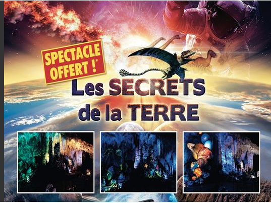 Spectacle Les secrets de la Terre