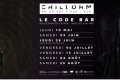 ChillOhm 4h set at Le Code Bar