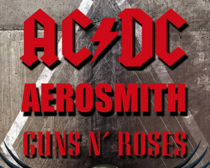 LEGENDS OF ROCK : TRIBUTE ACDC - AEROSMITH - GUNS N'ROSES